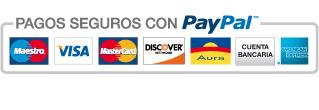 Pague cómodamente utilizando los servicios de PayPal